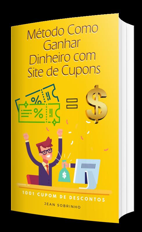 E-book Método de Como Ganhar Dinheiro com Sites de Cupom de Descontos